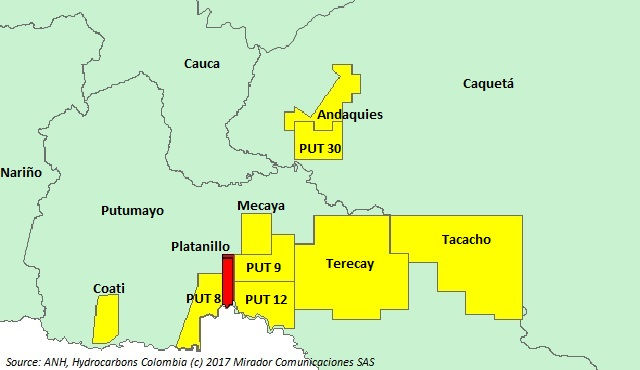 Amerisur increases its presence in Putumayo
