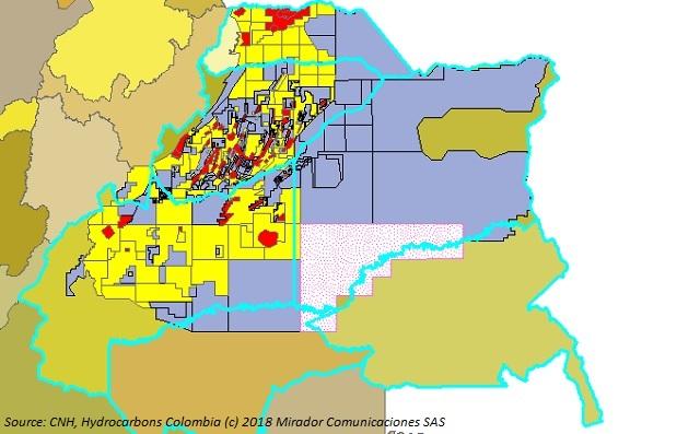 Llanos Orientales oil potential